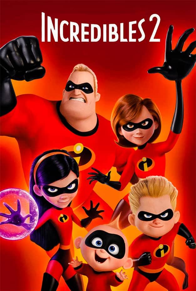 فيلم Incredibles 2 مدبلج