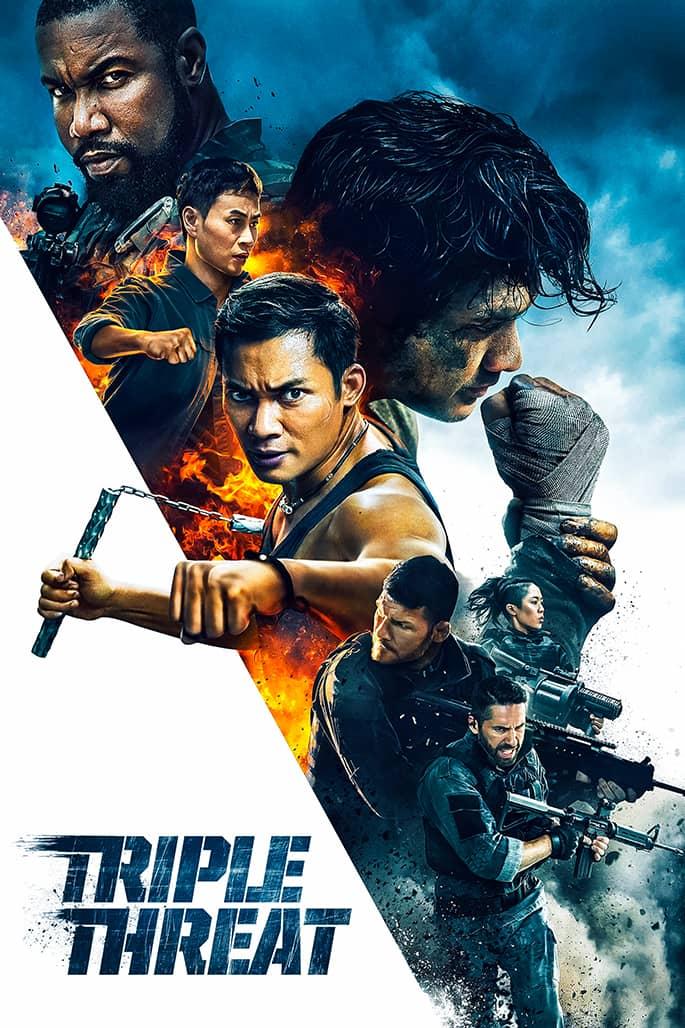 فيلم Triple Threat 2019 مترجم