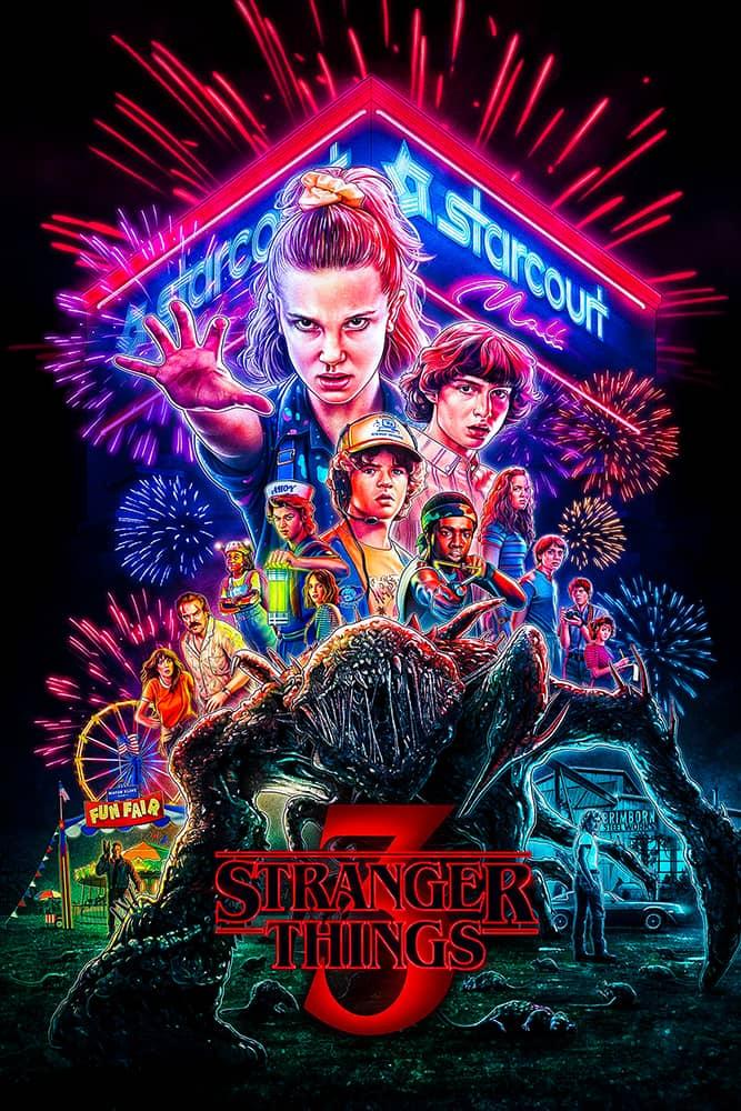 مسلسل Stranger Things الموسم الثالث الحلقة 6 السادسة مترجمة