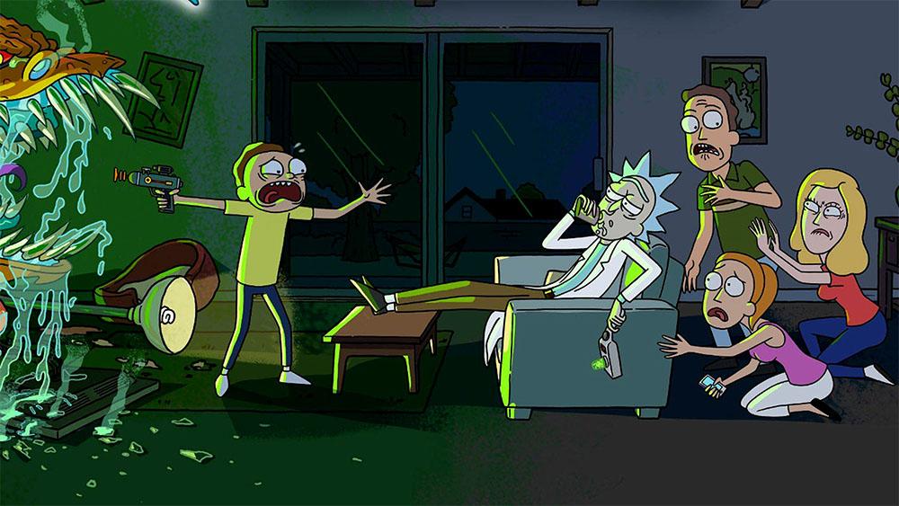 مسلسل Rick and Morty الموسم الرابع مترجم