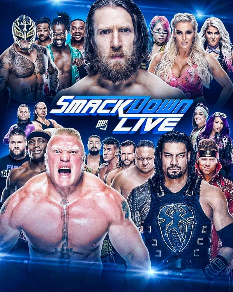 عرض WWE Friday Night Smackdown 2020.01.24 مترجم