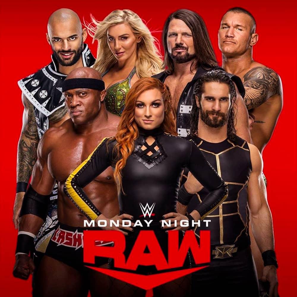 عرض WWE Monday Night Raw 13.01.2020 مترجم