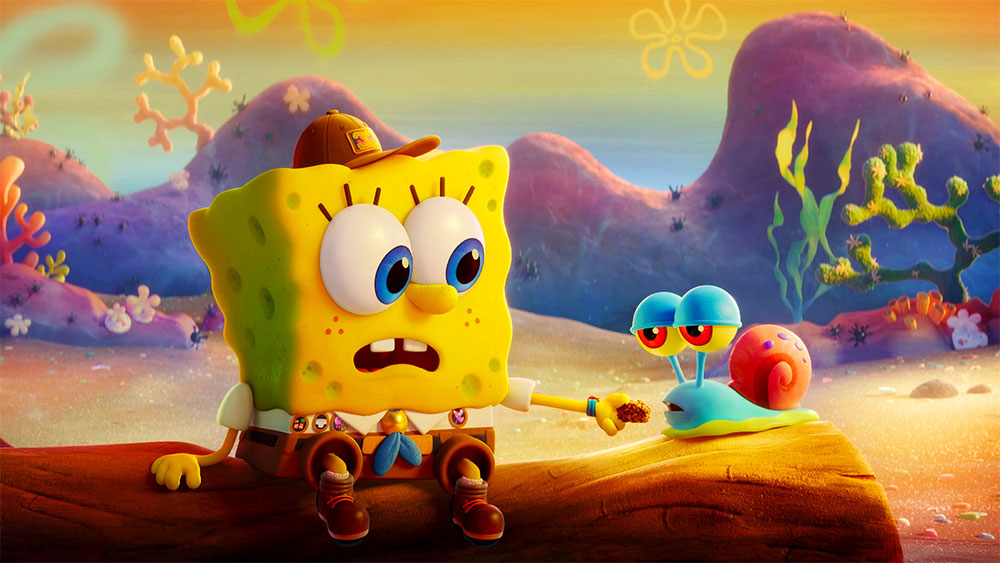 فيلم The SpongeBob Movie: Sponge on the Run 2020 مدبلج