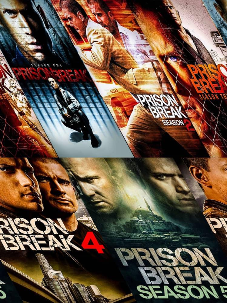 جميع مواسم مسلسل Prison Break مترجم