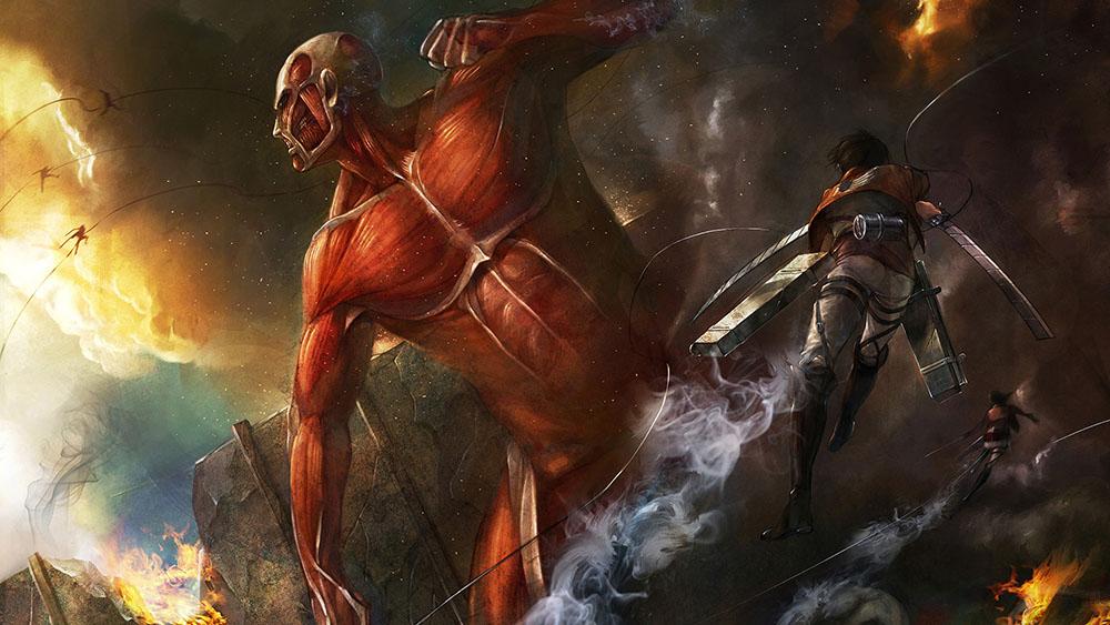 مسلسل Attack on Titan ج4 مترجم