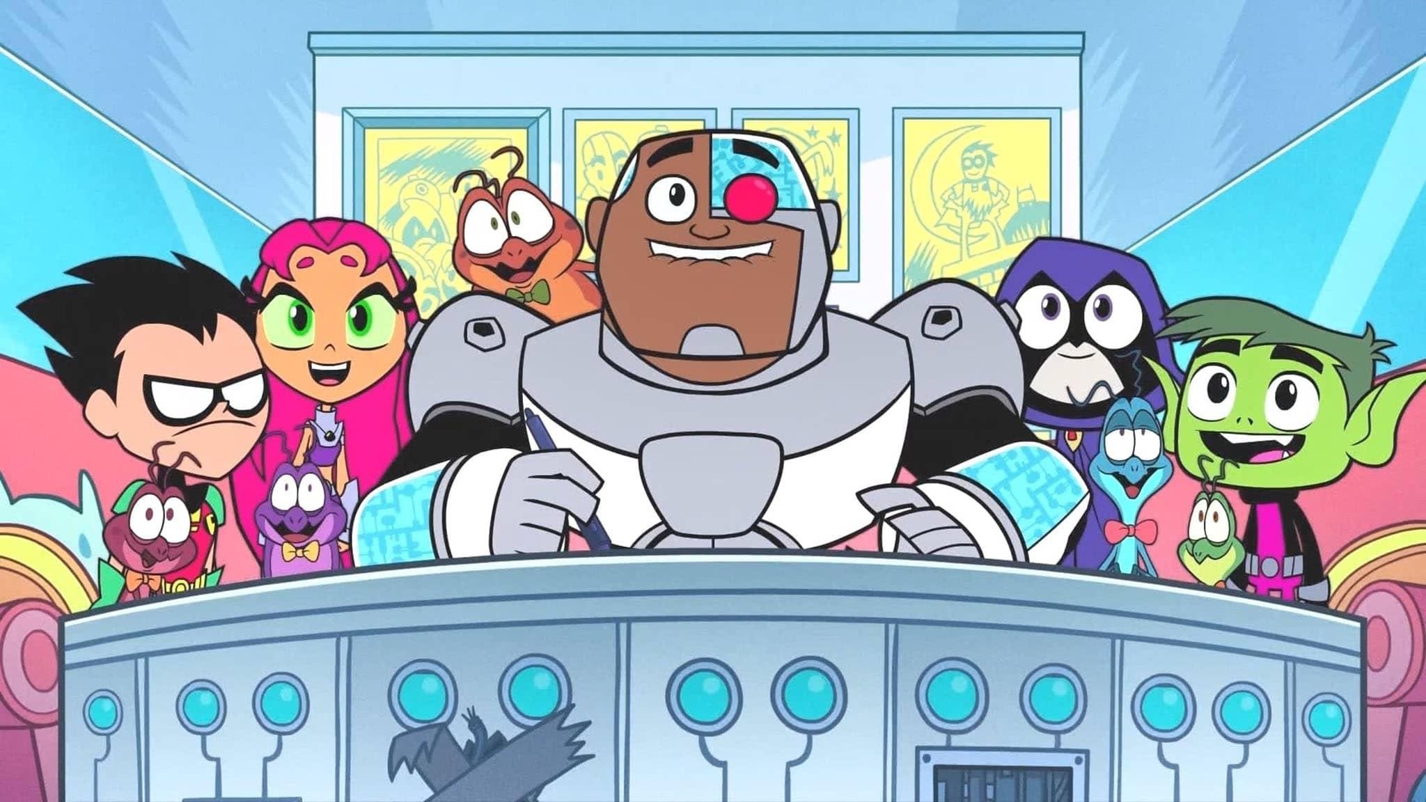 فيلم Teen Titans Go! See Space Jam 2021 مترجم