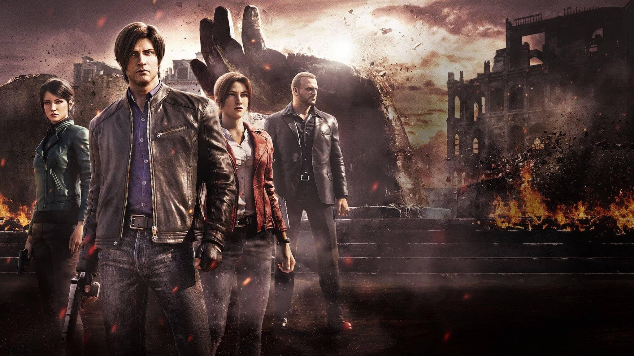 مسلسل Resident Evil: Infinite Darkness ج1 مترجم