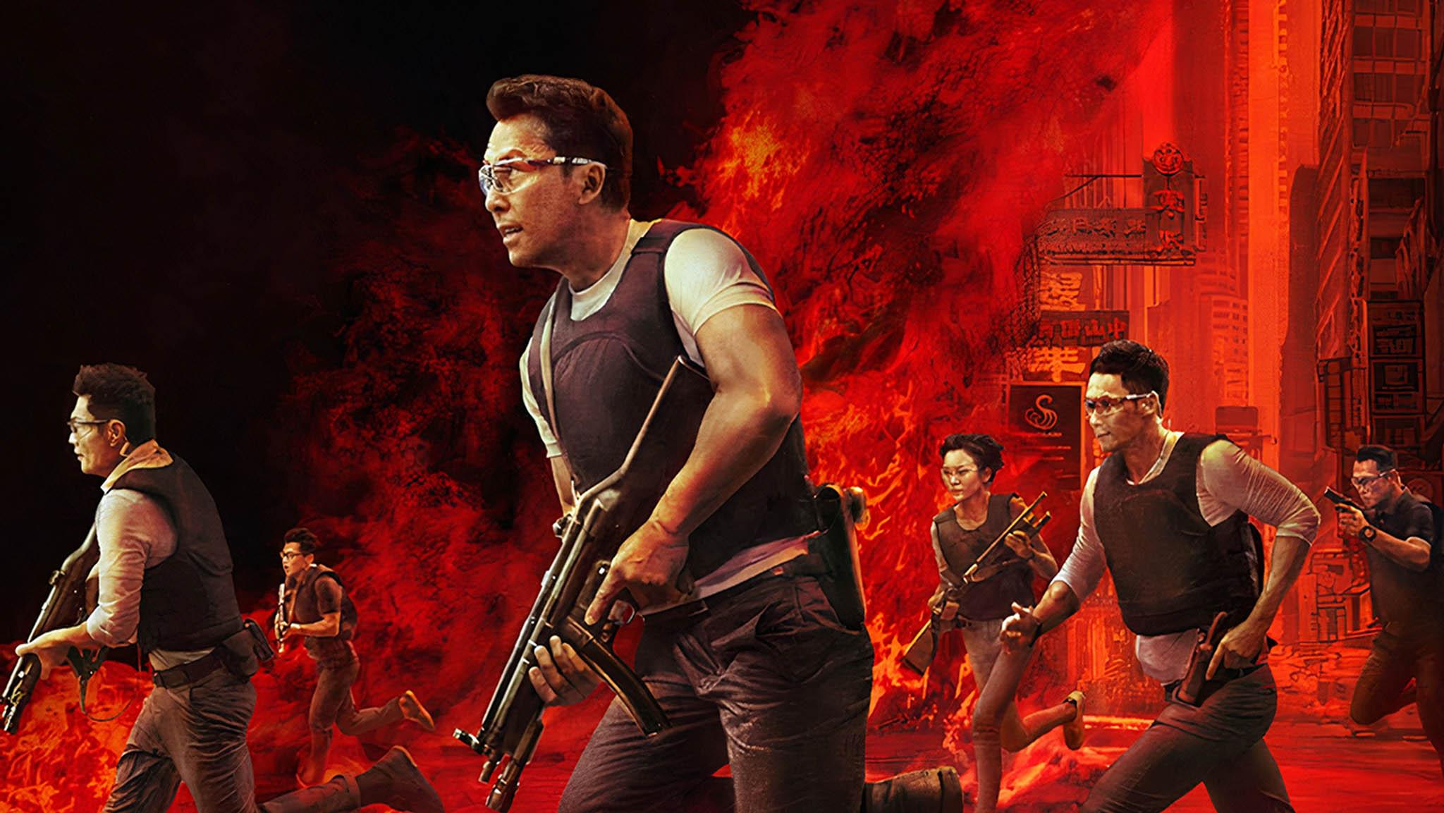 فيلم Raging Fire 2021 مترجم
