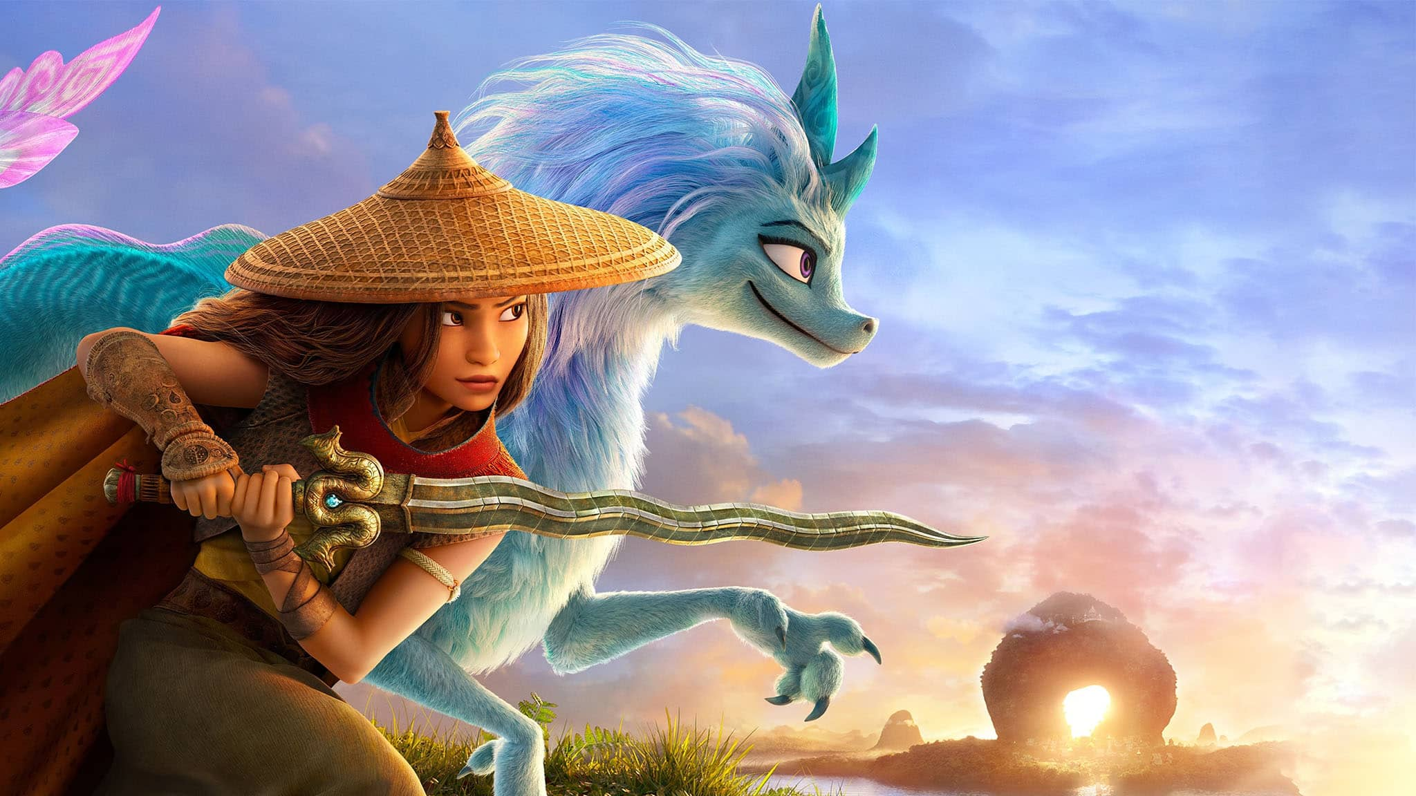 فيلم Raya and the Last Dragon 2021 مدبلج