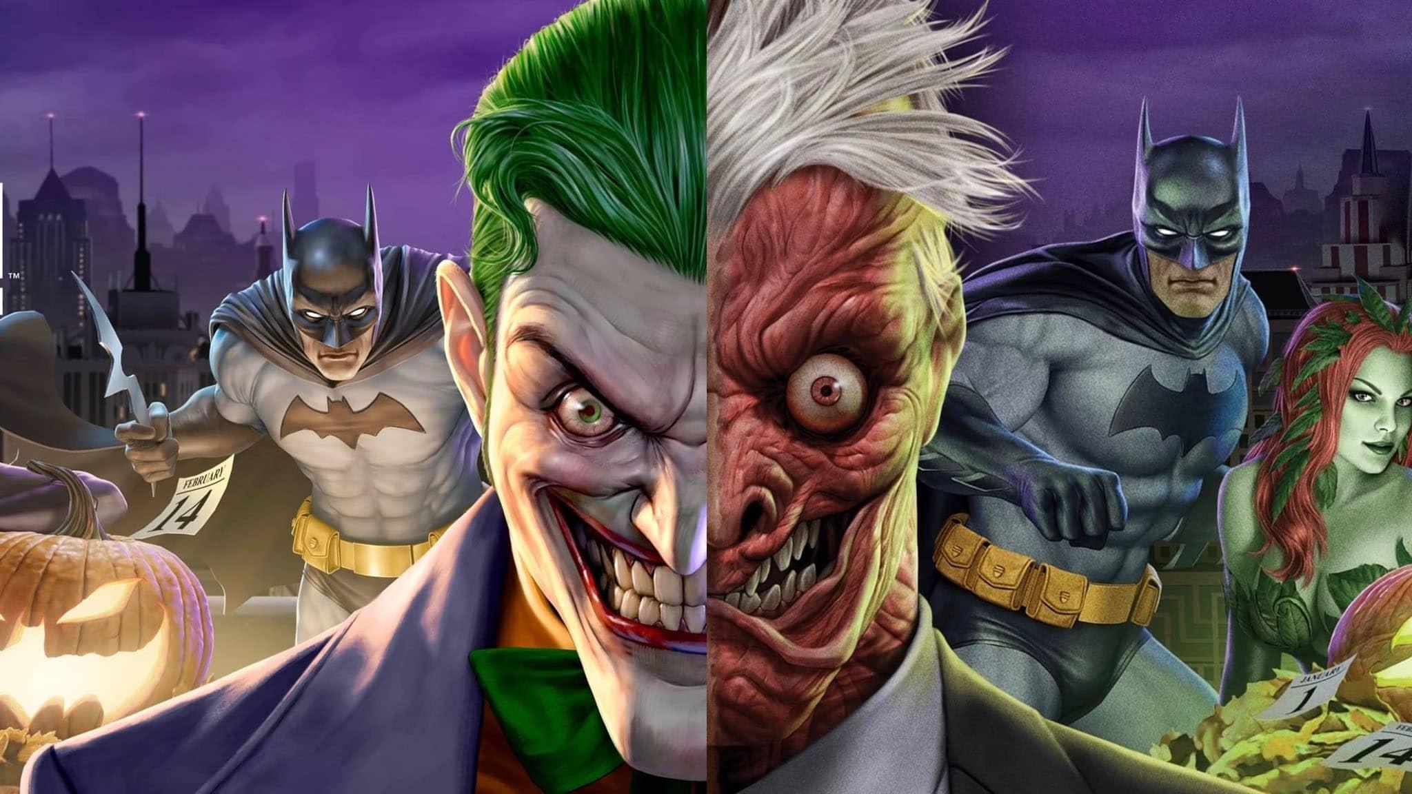 فيلم Batman: The Long Halloween, Part Two 2021 مترجم